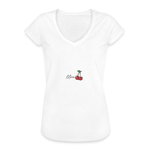 Mon Cherry - Frauen Vintage T-Shirt