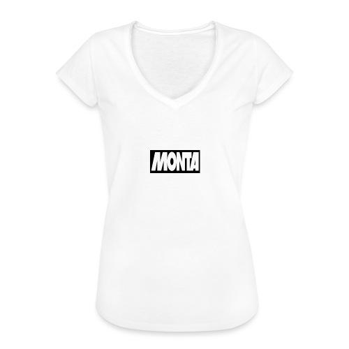 NEW!! merch - Vrouwen Vintage T-shirt