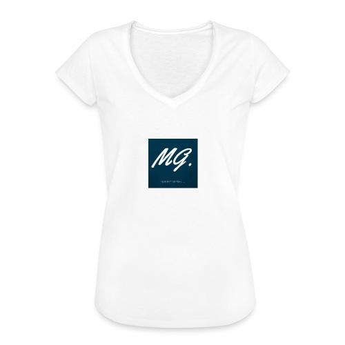Nur mit Gefuehl - Frauen Vintage T-Shirt