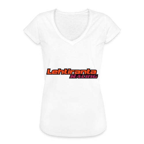 Lehtiranta racing - Naisten vintage t-paita