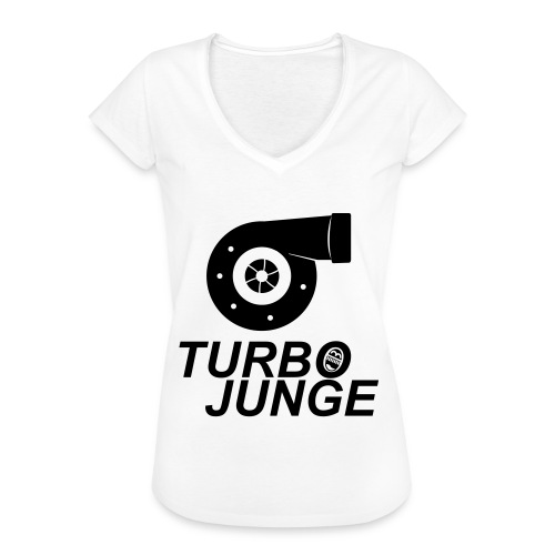 Turbojunge! - Frauen Vintage T-Shirt