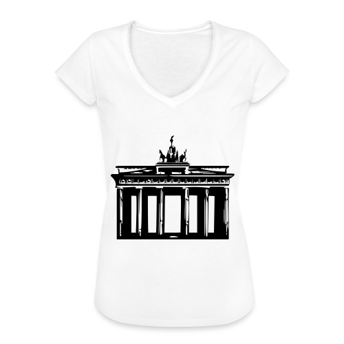 Brandenburger Tor - Frauen Vintage T-Shirt