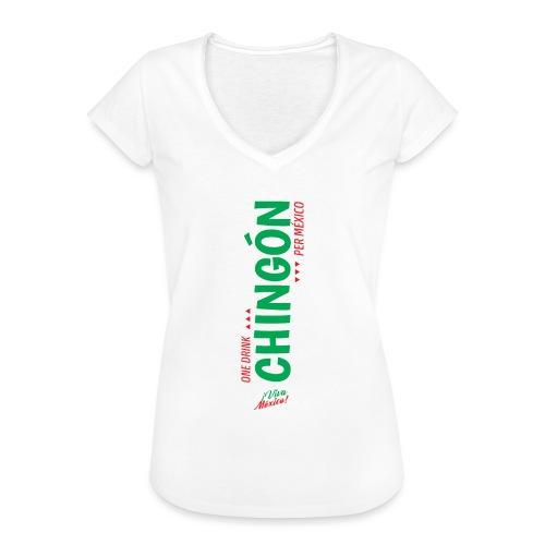 One Drink - Camiseta vintage mujer