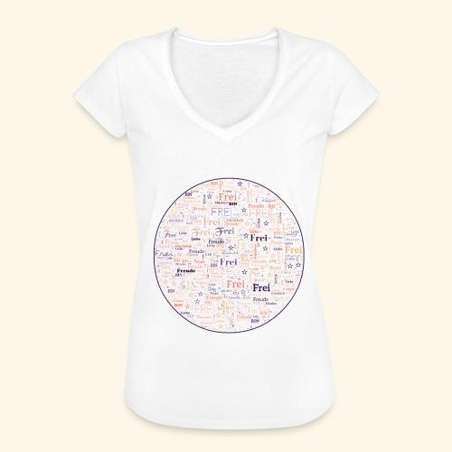 Ich bin - Frauen Vintage T-Shirt