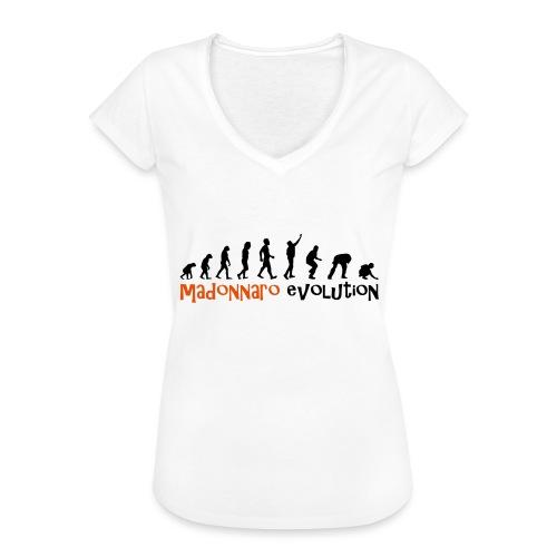 madonnaro evolution original - Women's Vintage T-Shirt