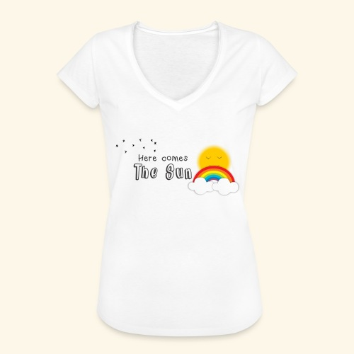 Here comes the sun - Camiseta vintage mujer