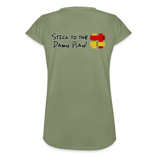 Stick to the Damn Plan - Women's Vintage T-Shirt