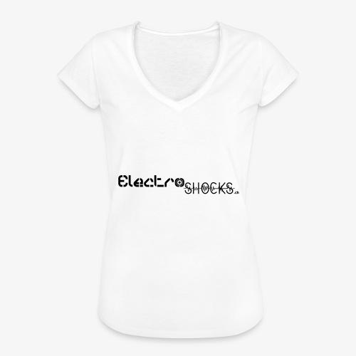 ElectroShocks BW siteweb - T-shirt vintage Femme