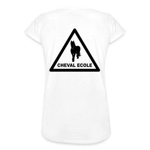 chevalecoletshirt - T-shirt vintage Femme