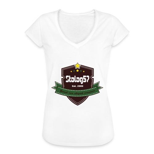 logo - T-shirt vintage Femme