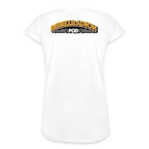 rebellradion logo 2017 - Vintage-T-shirt dam