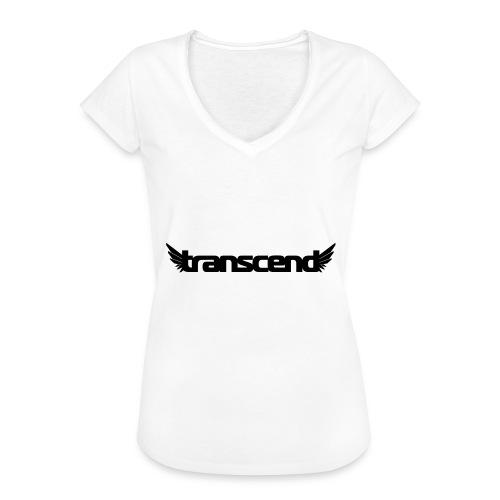 Transcend Bella Tank Top - Women's - White Print - Women's Vintage T-Shirt