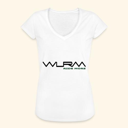 WLRM Schriftzug black png - Frauen Vintage T-Shirt