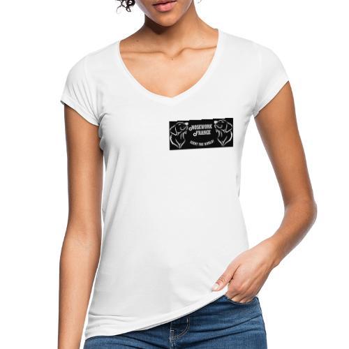 Nosework France nb - T-shirt vintage Femme