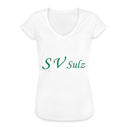 svs schrift 2 - Frauen Vintage T-Shirt