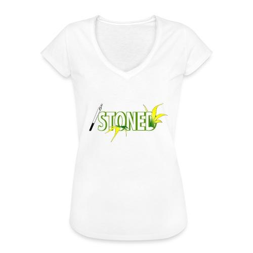 STONED - T-shirt vintage Femme