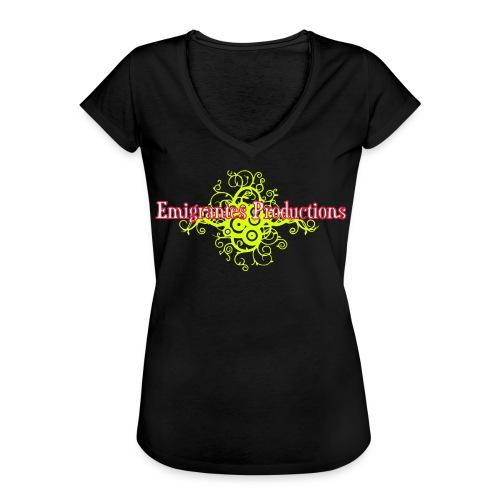 Emigrantes Productions logo SVG 3 couleurs - T-shirt vintage Femme