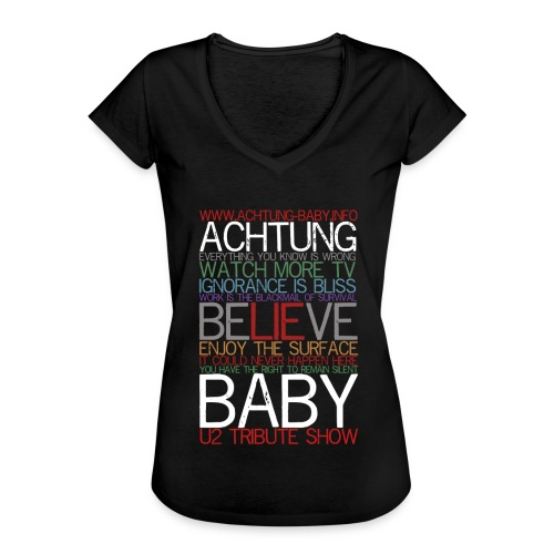 Everything you know is wrong - Frauen Vintage T-Shirt