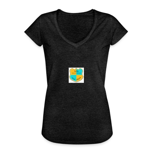 STG Vienna Kickers Logo - Frauen Vintage T-Shirt