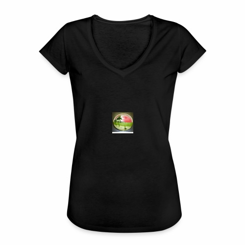 melon view - Women's Vintage T-Shirt
