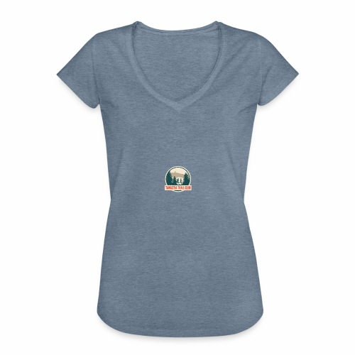 Tawastia Trail Logo - Naisten vintage t-paita