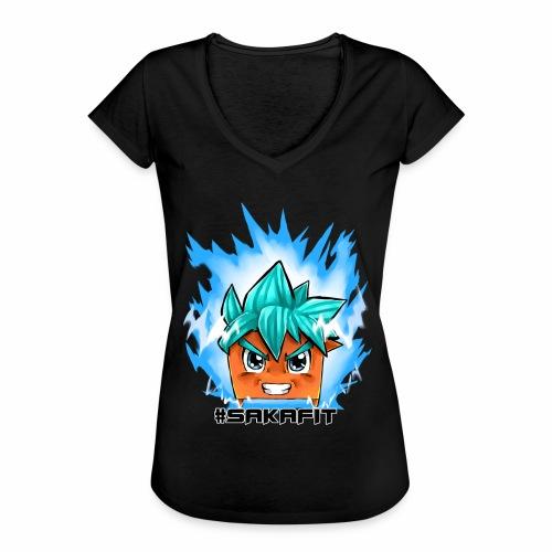 #sakaFIT Blue - Frauen Vintage T-Shirt