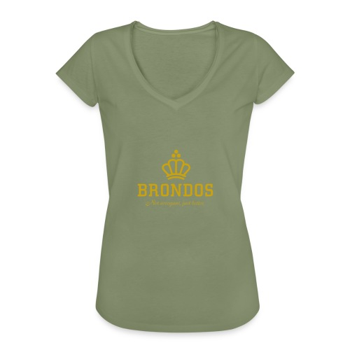 Brondos - Naisten vintage t-paita