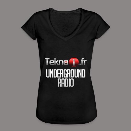 logo tekno1 2000x2000 - T-shirt vintage Femme
