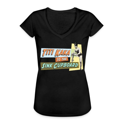 titikaka shirt1 trans - Vrouwen Vintage T-shirt