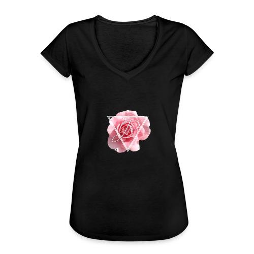 Rose Logo - Women's Vintage T-Shirt