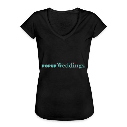 Popup Weddings - Women's Vintage T-Shirt