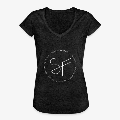 SMAT FIT NUTRITION & FITNESS FEMME - Camiseta vintage mujer