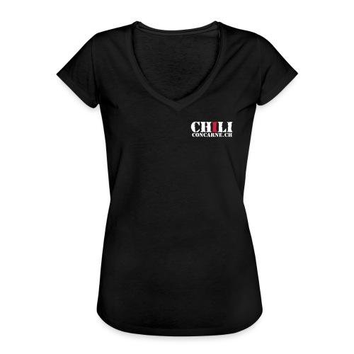 Chili con carne - Frauen Vintage T-Shirt