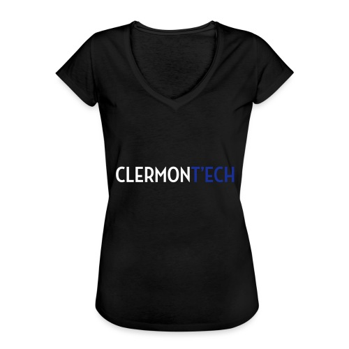 Clermont ech two colors - T-shirt vintage Femme