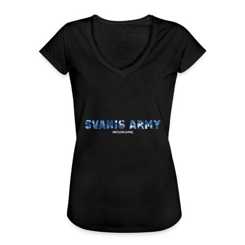 SVANIS ARMY, SWEDISHGAMING - Vintage-T-shirt dam