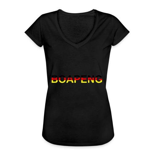 Boapeng - Frauen Vintage T-Shirt