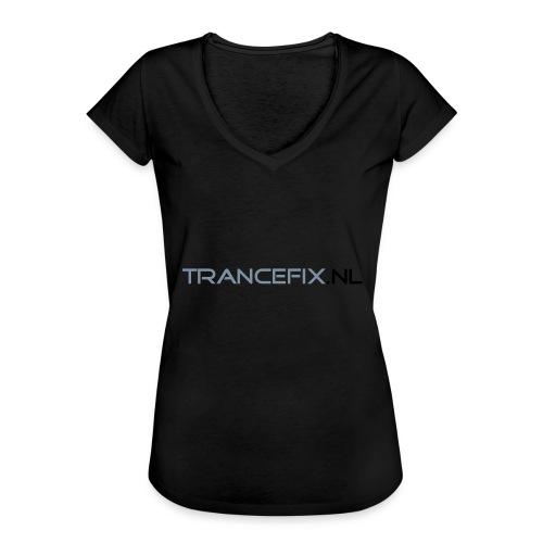 trancefix text - Women's Vintage T-Shirt