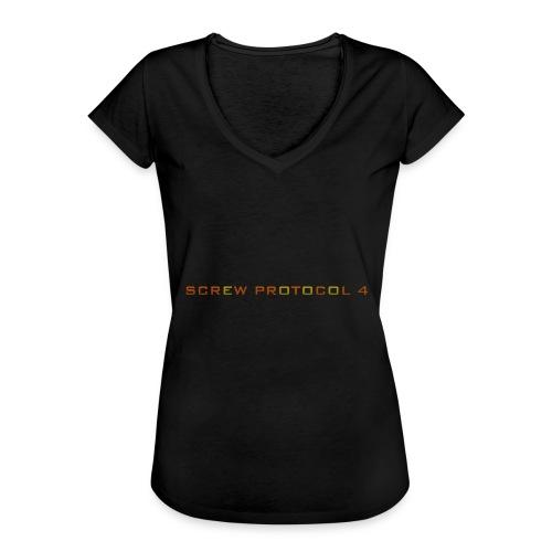 ScrewP4 Final - Women's Vintage T-Shirt