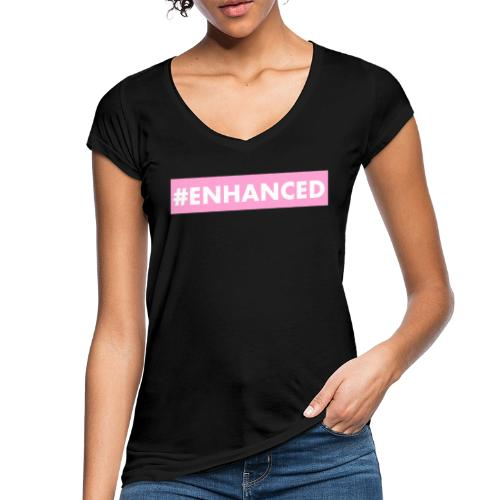 ENHANCED BOX - Women's Vintage T-Shirt