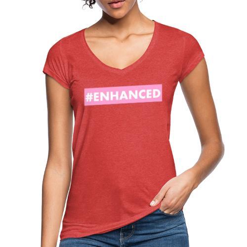 ENHANCED BOX - Women's Vintage T-Shirt