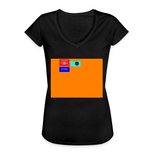 logo - Vrouwen Vintage T-shirt