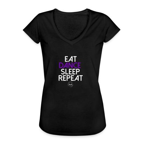Eat dance sleep repeat 2 - T-shirt vintage Femme