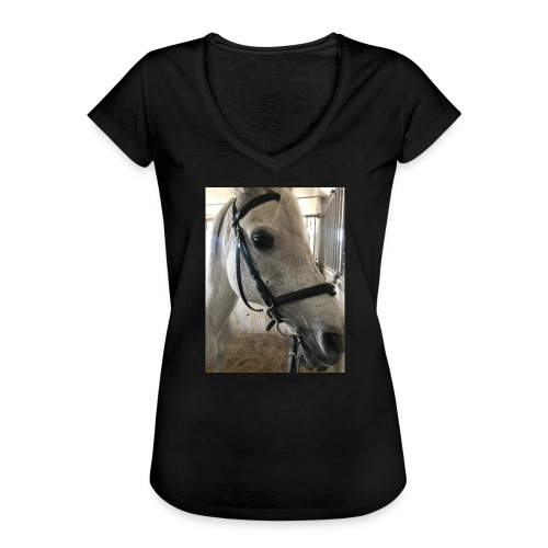 9AF36D46 95C1 4E6C 8DAC 5943A5A0879D - Vintage-T-skjorte for kvinner