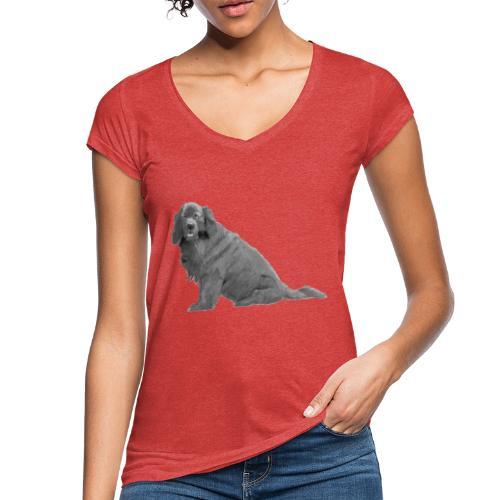 newfoundland - Dame vintage T-shirt