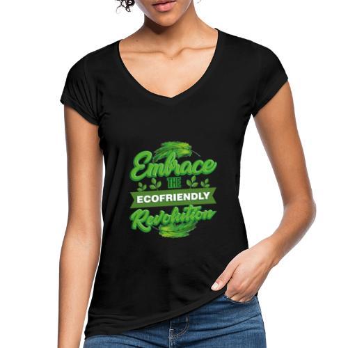 Embrace Eco Friendly Revolution - Women's Vintage T-Shirt