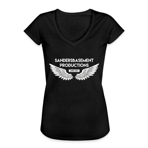 T SHIRT logo wit png png - Vrouwen Vintage T-shirt