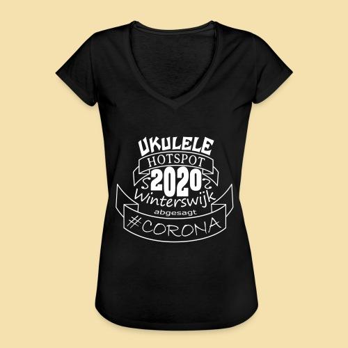 Ukulele Hotspot Winterswijk 2020 abgesagt #CORONA - Frauen Vintage T-Shirt