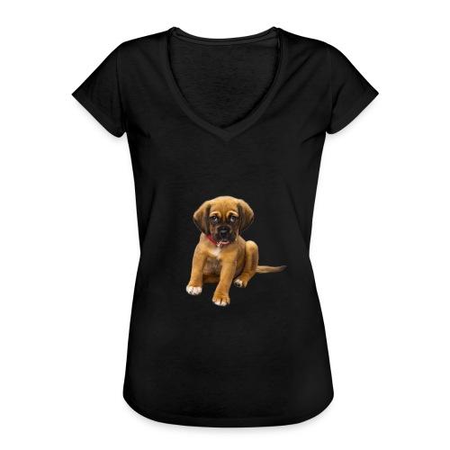 Süsses Haustier Welpe - Frauen Vintage T-Shirt