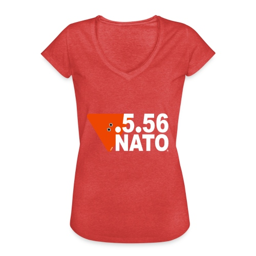 .5.56 NATO BLANC - T-shirt vintage Femme