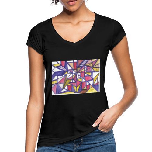 Flickenteppich - Frauen Vintage T-Shirt